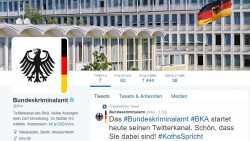 Bundeskriminalamt startet seine Social-Media-Strategie