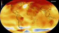 Klima-Schreckensjahr: 2016 bricht wie zwei Vorjahre Temperaturrekord