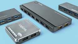 USB-Hubs gibt es bisher höchstens mit USB 3.0 SuperSpeed