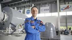 Neuer deutscher Astronaut Maurer würde gerne zum Mond