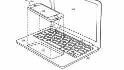 Apples Laptop-Accessoire für das iPhone