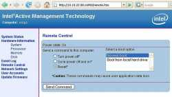 Intel Active Management Technology (AMT)