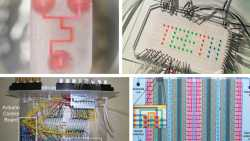 Metafluidics.org, a new MIT open-source website, supplies blueprints for microfluidic parts. Pictured are a few photographs from the website