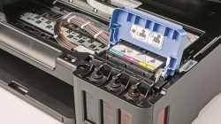Einmal auftanken: Tintenstrahldrucker mit festem Tank für Vieldrucker