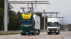 eHighway: Siemens bestückt Autobahnstrecke mit Oberleitung