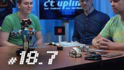 c't uplink 18.7: Roboter zum Programmieren lernen, IT bei Wahlen und HDR im TV
