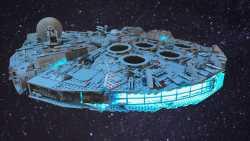 Lego-Marathon: Millennium Falcon in Rekordzeit gebaut