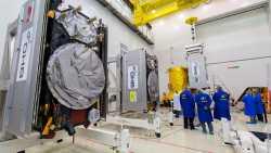 Galleo-Satelliten warten auf den Start