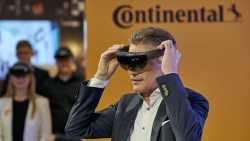 Continental-Vorstandsvorsitzender Degenhart