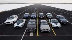BMW Elektro- und Hybridflotte