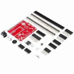 Das Adaptershield von Sparkfun erlaubt den Teensy-Boards 3.1 und 3.2, Arduino-Shields zu nutzen