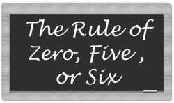 C++ Core Guidelines: Die Nuller-, Fünfer- oder Sechserregel