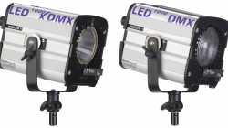 Neue LED-Leuchten mit DMX-Steuerung von Hedler