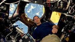 Thomas Pesquet auf der ISS