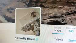 """""""Fühle mich nicht einsam"""": Wenn Roboter aus dem Weltall twittern"""