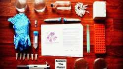 Inhalt des DIY-CRISPR-Kits von The Odin