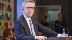 "De Maizière hält Losung ""Meine Daten gehören mir"" für falsch"