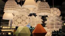 Lampen aus Ikea-Küchenutensilien bauen
