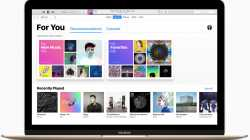 iTunes in macOS Sierra