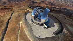 Neues Riesen-Teleskop in Chiles Wüste
