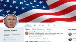 """Twitter: Löschen Trump-Tweets nicht wegen """"Neuigkeitswert"""" und """"öffentlichem Interesse"""""""