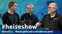 #heiseshow, live ab 12 Uhr: Strava & Co. – Warum geben wir so viel über uns preis?