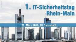 1. IT-Sicherheitstag in Darmstadt: IoT – Internet of Things or Threats?