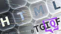#TGIQF: HTML
