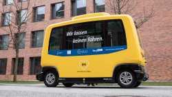 Autonome Kleinbusse fahren erstmals im Regelbetrieb in Berlin