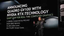 Neue Nvidia-Profigrafikkarte Quadro GV100 erlaubt Raytracing in Echtzeit
