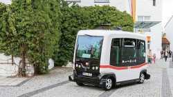 Autonomer Elektrobus soll in Bad Birnbach längere Strecken fahren