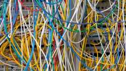 Kabel an Großrechner