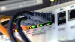 LAN-Kabel in Router