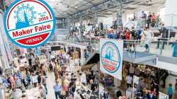 Blick in die METAStadt Wien während der Maker Faire Vienna 2018.