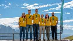 Team HackTheAlps-Hackathon, Coronas/Kronplatz, Südtirol