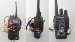 Drei Ansichten des Babyphones mit Arduino