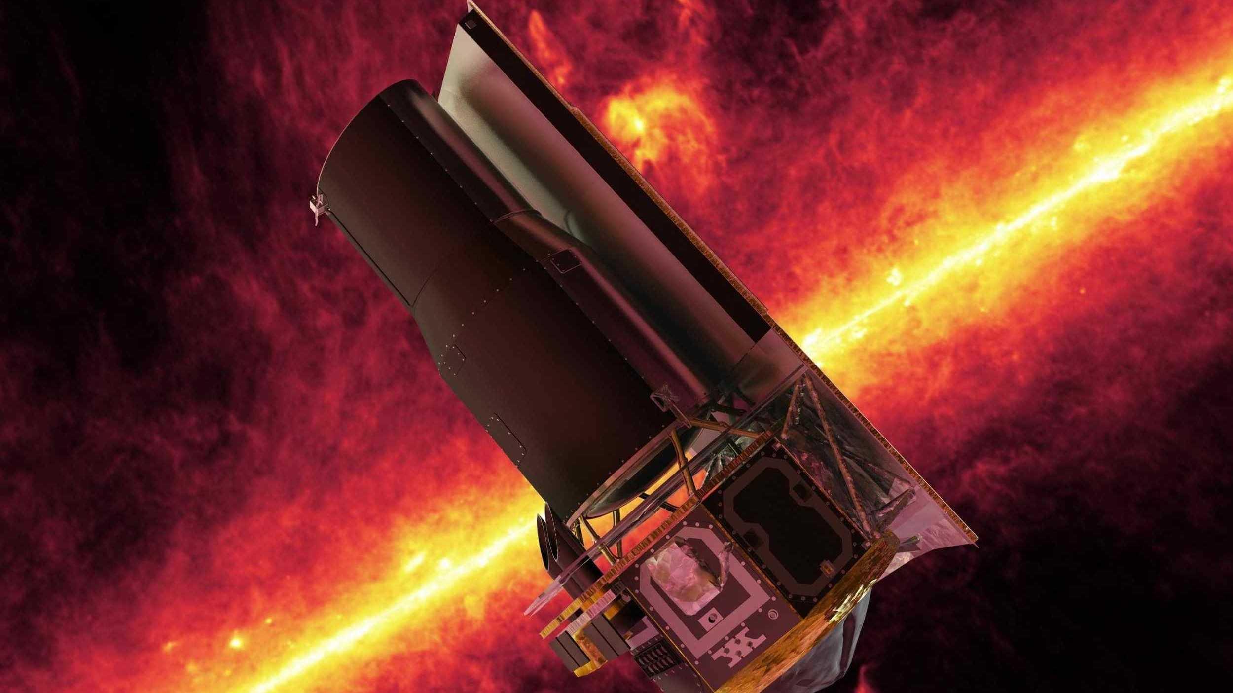 """Weltraumteleskop """"Spitzer"""" der Nasa feiert 15 Jahre im All"""