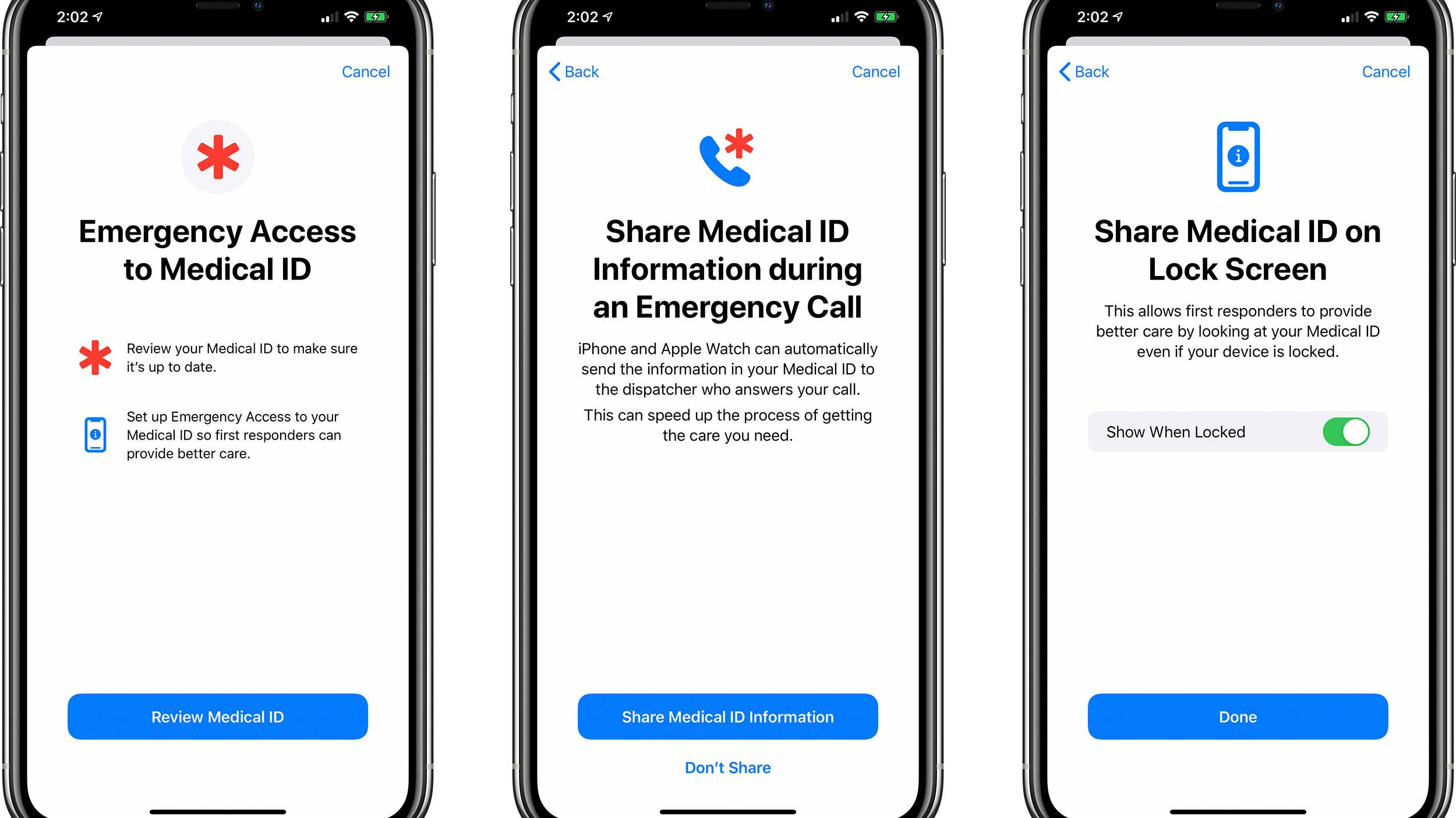 iPhone und Apple Watch k?nnen Gesundheitsinfos an Rettungskr?fte schicken