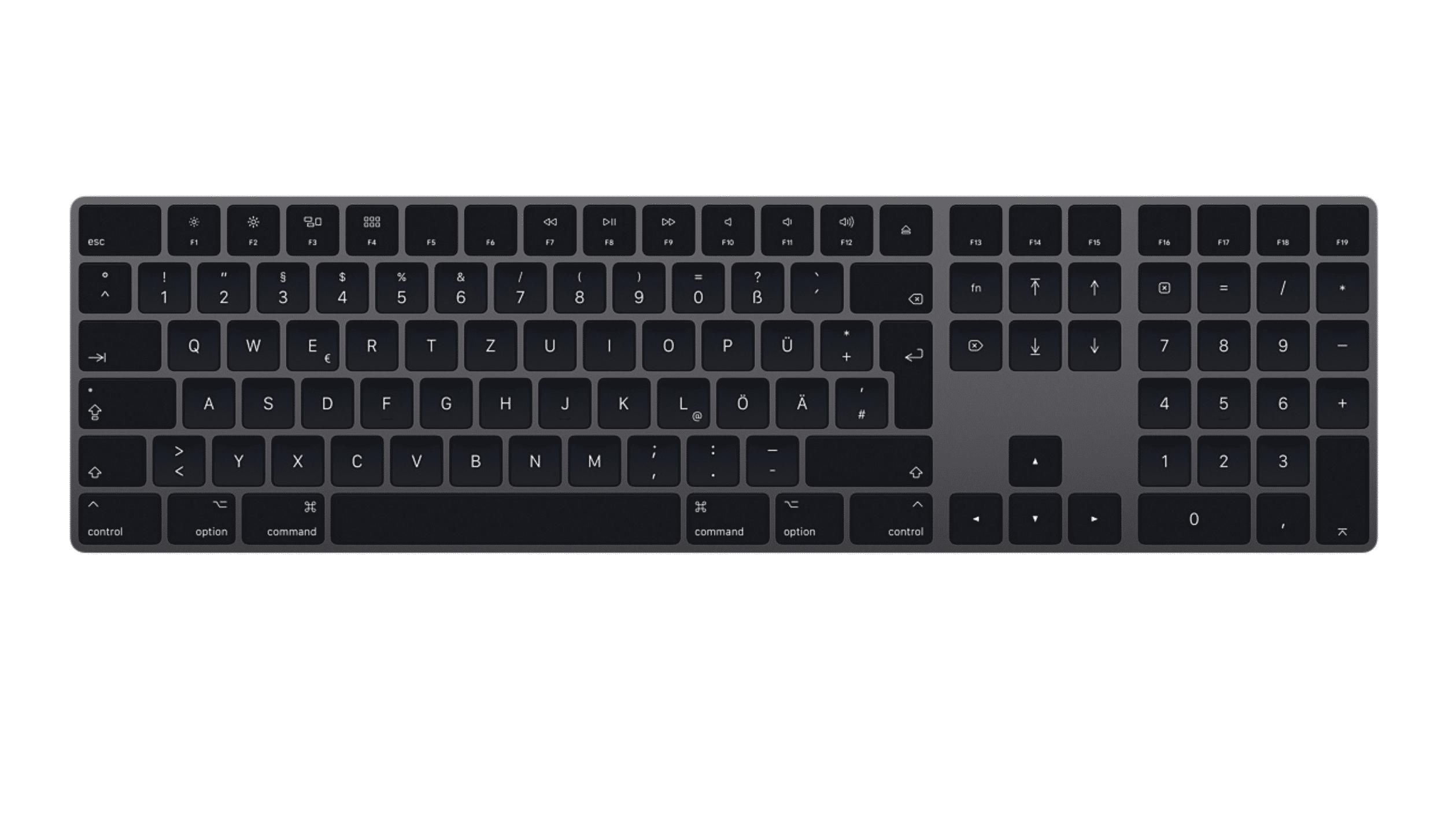 Magic Keyboard space grey