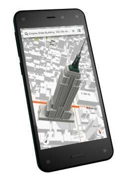 Das Fire Phone ist nicht das erste Smartphone mit 3D-Display – aber das erste, das die Darstellung an die Position des Nutzers anpasst.