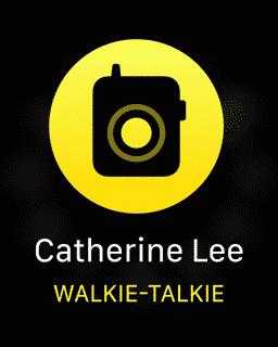 Apples Walkie-Talkie-Dienst erlaubt Kommunikation a la Funkgerät.