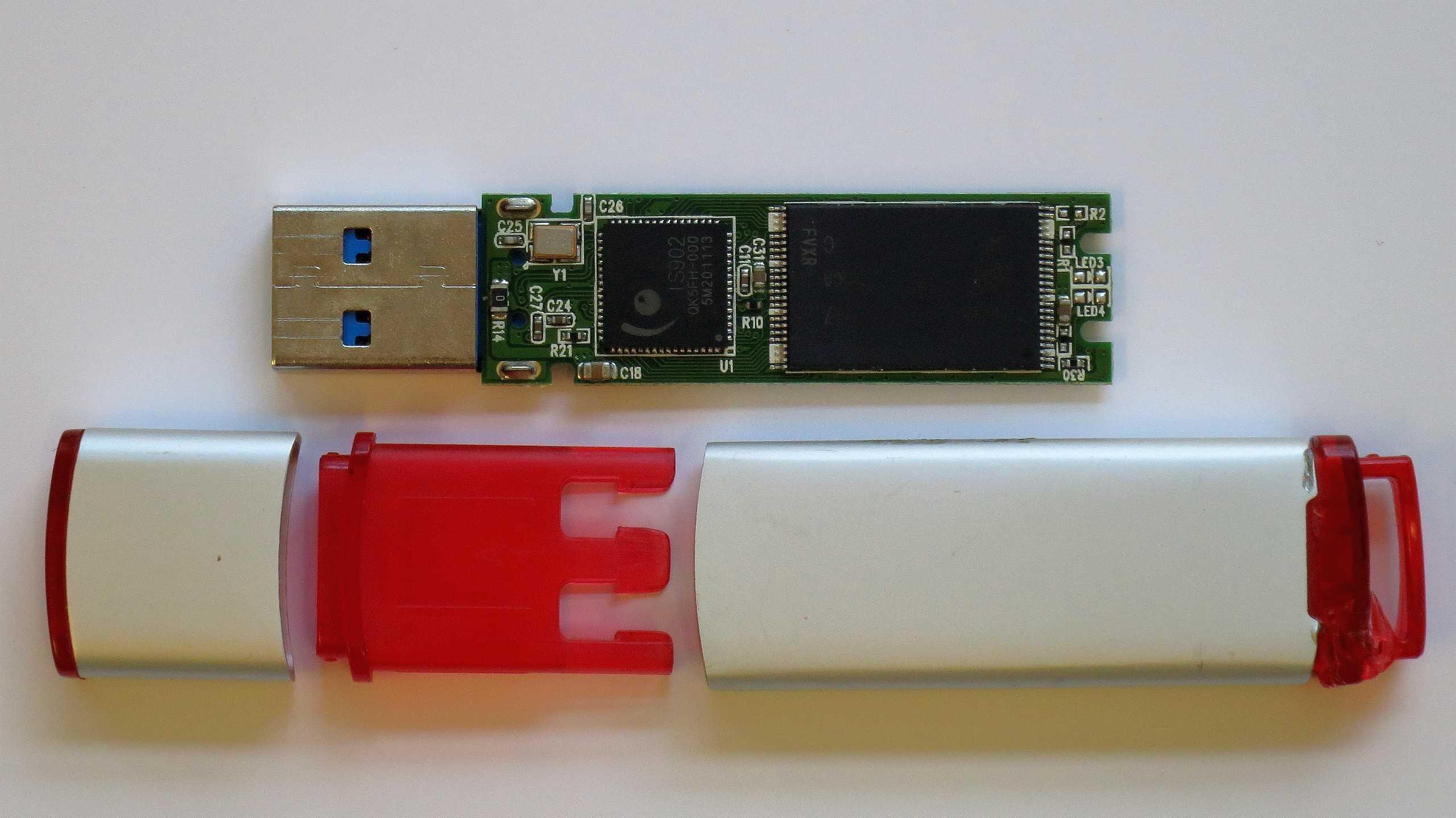 Frische USB-Sticks mit alten Daten