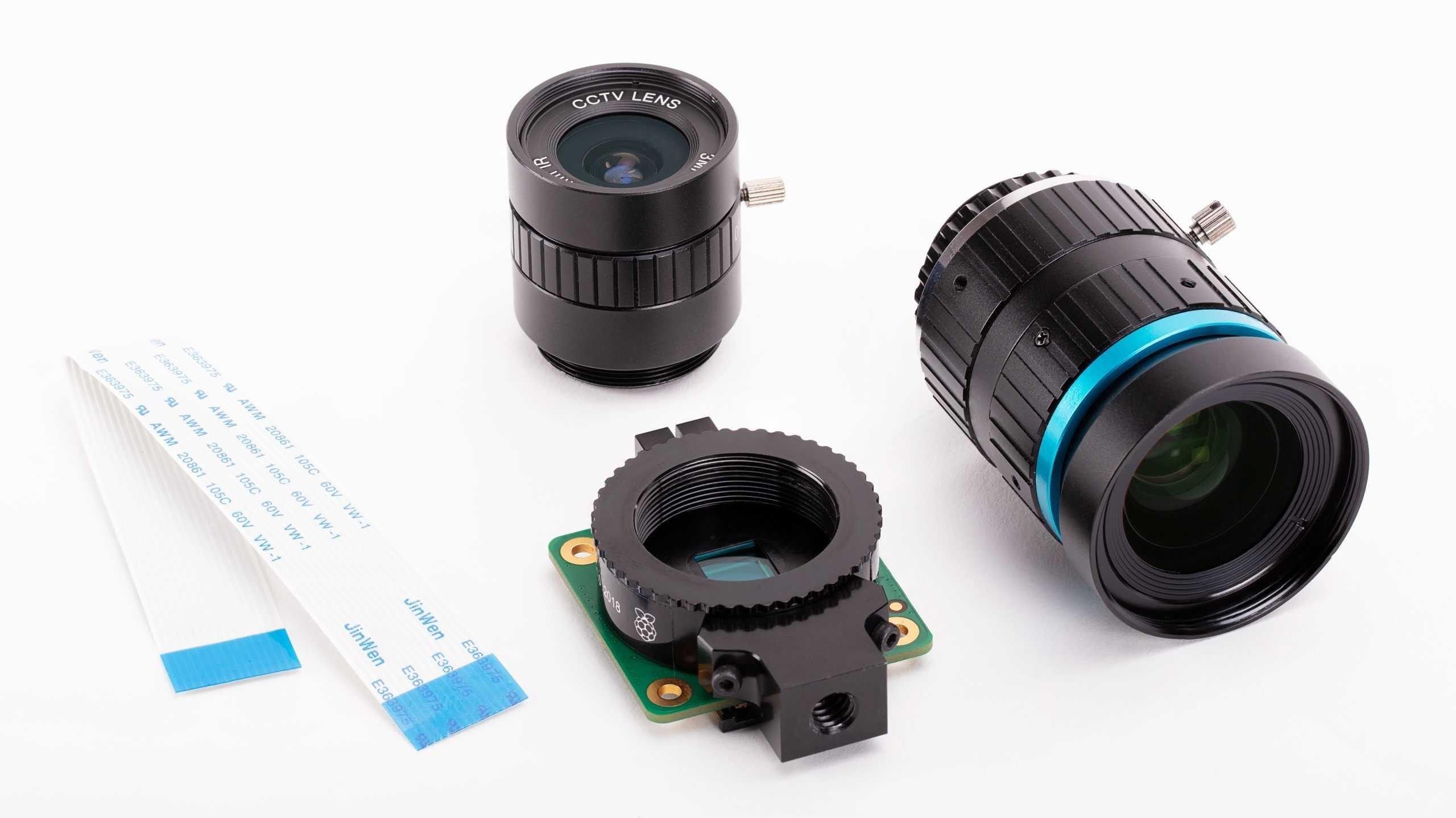 Raspberry-Pi-Kamera mit 12 Megapixeln und Wechselobjektiven