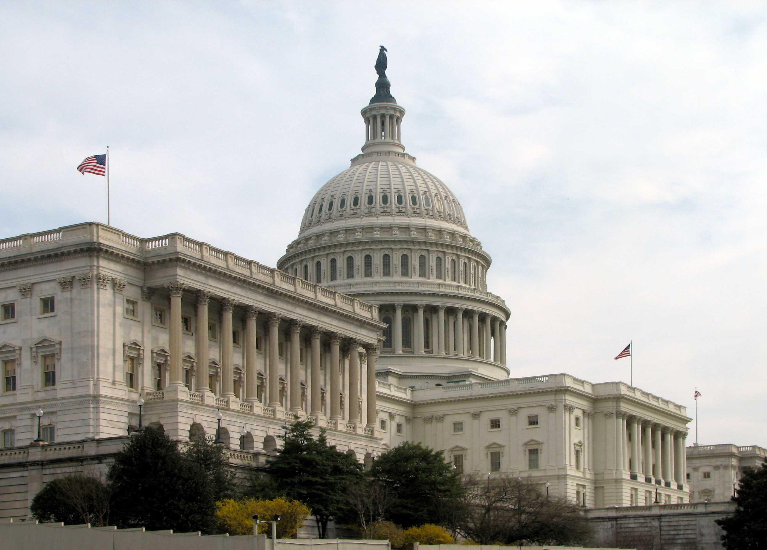 Senatsseite des US-Capitols