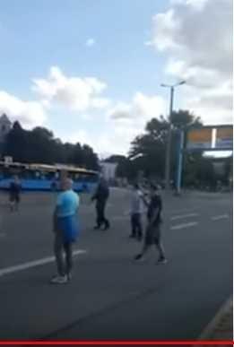 Ausschnit aus dem Chemnitzer Video