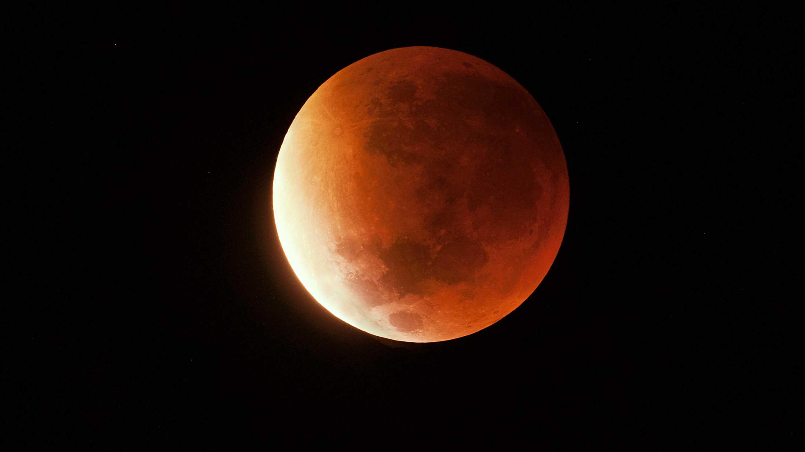 Blutmond: So fotografieren Sie die totale Mondfinsternis
