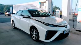 Wasserstoffauto Toyota Mirai