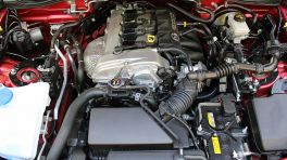 Motor eines Mazda MX-5
