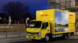 Geparkter Lastwagen 7,5 Tonnen