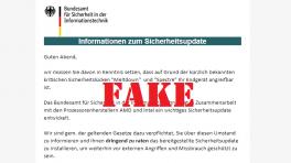 Vorsicht vor Fake-Mails vom BSI mit angeblichen Meltdown- und Spectre-Patches